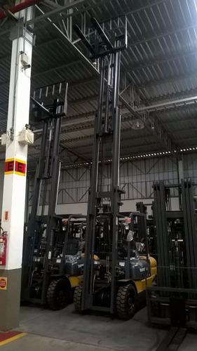 empilhadeira nova torre de 6 metros triplex
