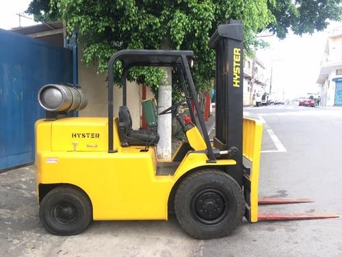 empilhadeiras hyster 2,500kg revisada aceito trocass