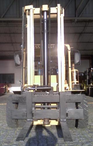 empilhadeiras hyster h80j cap. 4 tons roda dupla deslocador