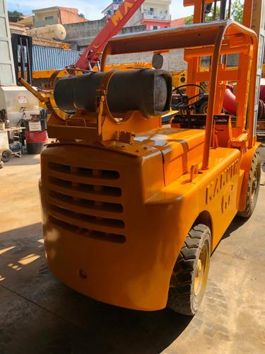 empilhadeiras hyster modelo h80j, 4 toneladas glp revisadas