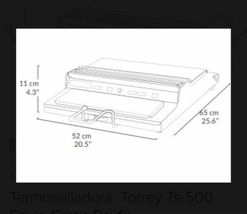 emplayadora torrey ts 500 termoselladora