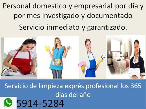 empleadas domésticas con disponibilidad inmediata...¡¡¡¡