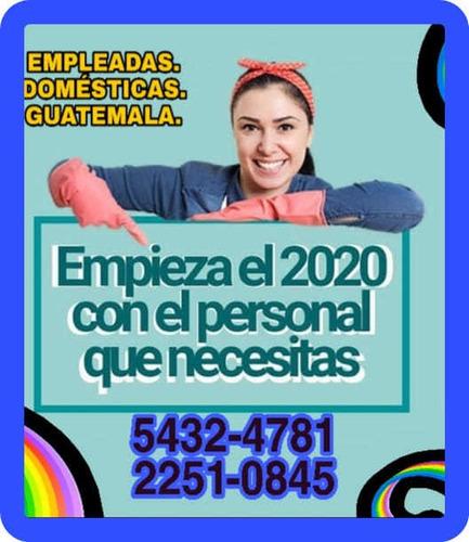 empleadas domesticas para este 2020 servicios por día y mes.