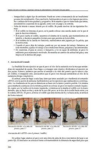 empleo del perro para defensa y seguridad