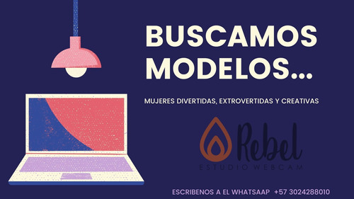 empleo modelo web cam