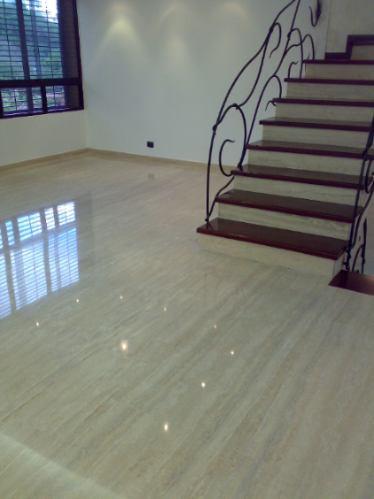 emplomado cristalizado piso