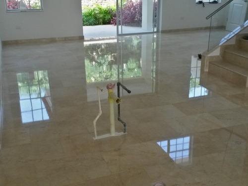 emplomado diamantado cristalizado pisos de granito marmol