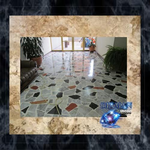 emplomado diamantado y cristalizado de pisos granito, marmol