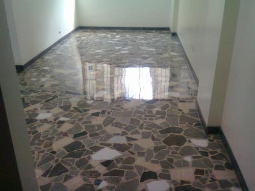 emplomado y cristalizado de granito marmol terracota-parquet