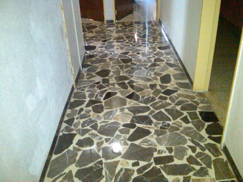 emplomado y cristalizado de granito y marmol