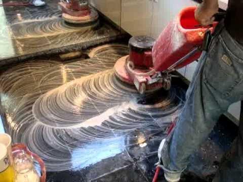 emplomado y cristalizado de marmol y granito