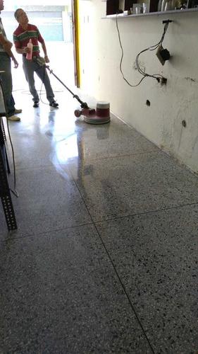 emplomado y cristalizado de pisos