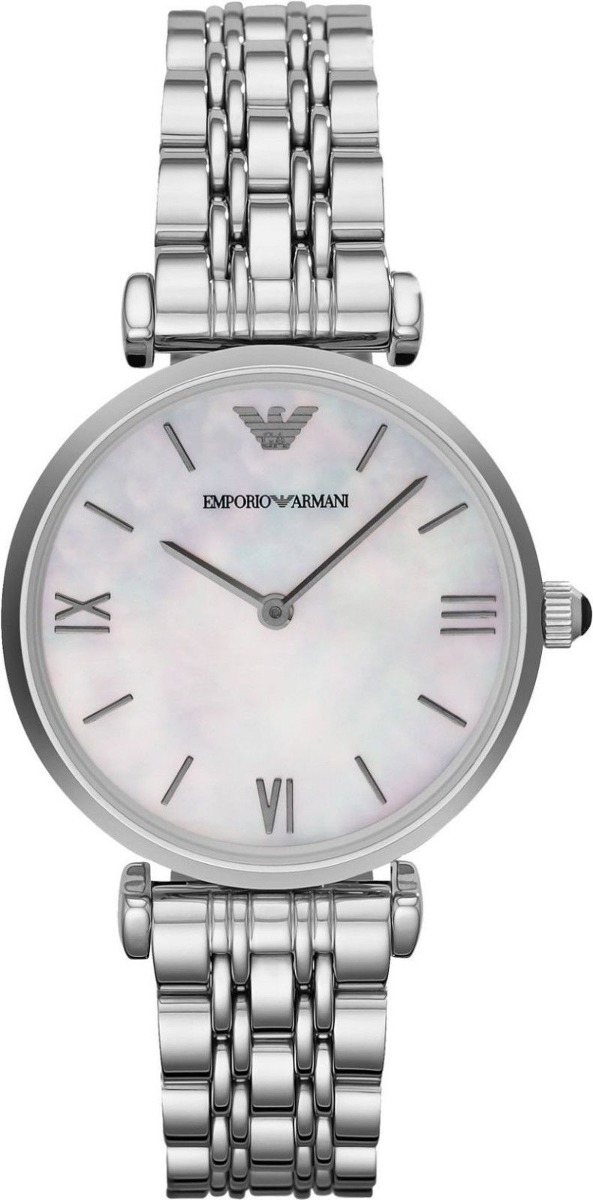 6b392402b7a8 Emporio Armani Ar1682 Classic Reloj Plateado Para... -   174.990 en ...