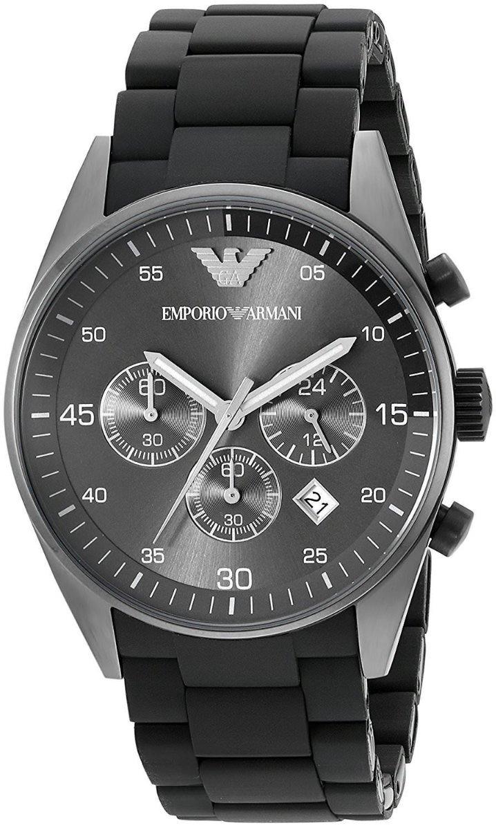 87ba3bbef228 emporio armani ar5889 reloj sportivo cronógrafo para hombre. Cargando zoom.