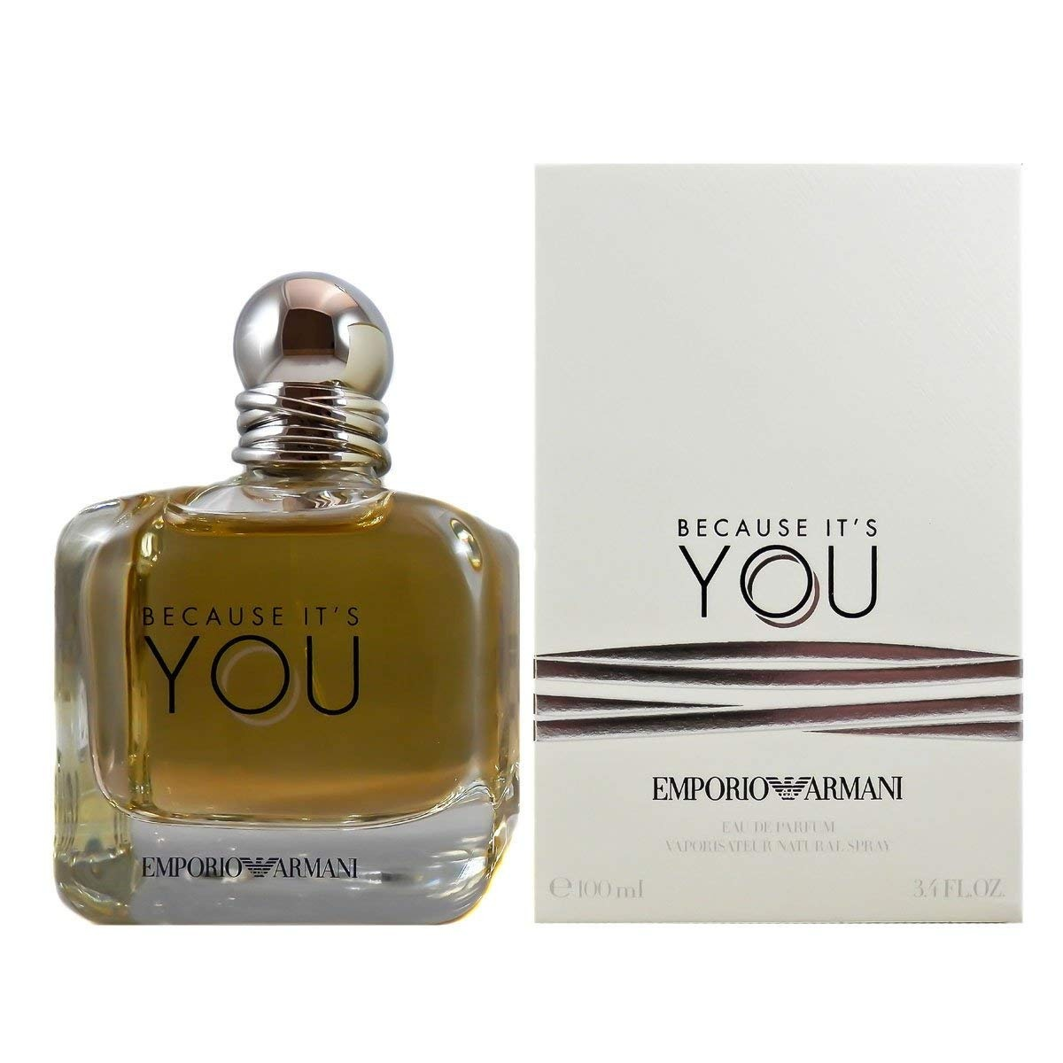 c1dc73ff60 Emporio Armani Because It's You Perfume Mujer Original - $ 1,599.00 ...