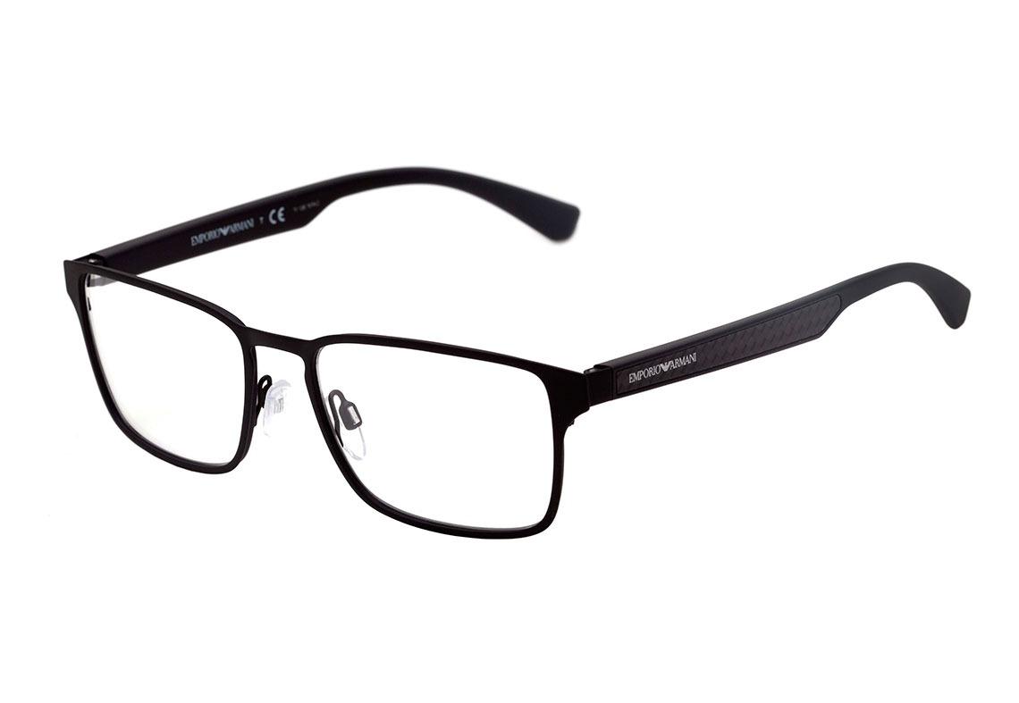 e6c74307a9f2a emporio armani ea 1063 - óculos de grau 3094 preto fosco -. Carregando zoom.