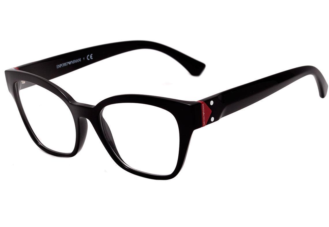 725282410 emporio armani ea 3132 - óculos de grau 5017 preto brilho. Carregando zoom.