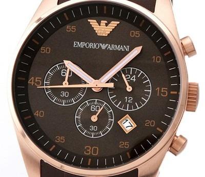 6e748f37996 emporio armani relógio · relógio emporio armani ar5890 marrom rose garantia  com caixa