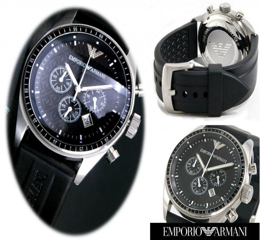 beb9138a0f4 Carregando zoom... relógio emporio armani ar0527 pulseira ...