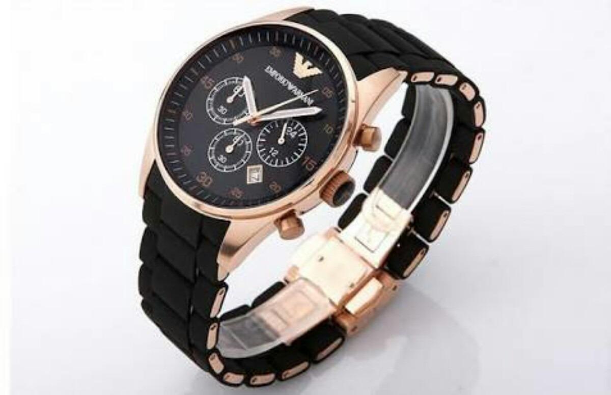 f9b00adb255 Relógio Empório Armani Ar5905 Original Completo - R  599