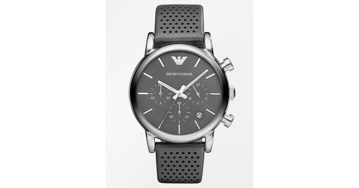 Relógio Emporio Armani Ar1735 Preto Lançamento Top P715 - R  399,15 ... 8784a12e12
