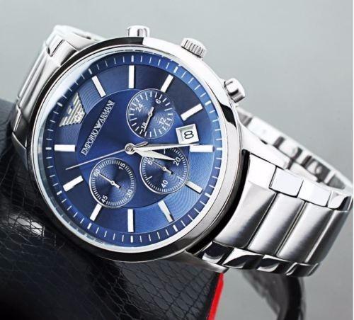ef848ec207e Relógio Emporio Armani Ar2448 Original 43mm Queima Estoque - R  399 ...