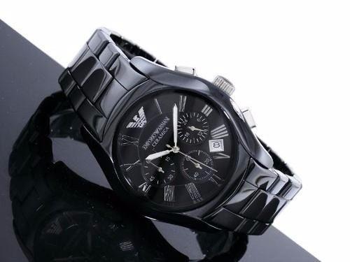 9e52faf006a relógio empório armani ar1400 ceramica preto original · relógio empório  armani · empório armani relógio
