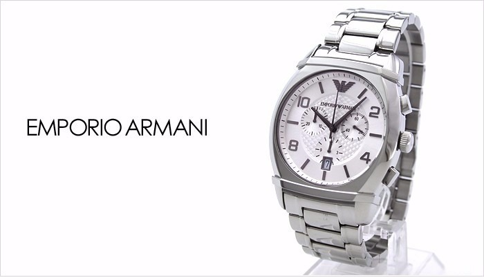bc3d2fd973d emporio armani relógio · relógio emporio armani prata ar 0350 ...