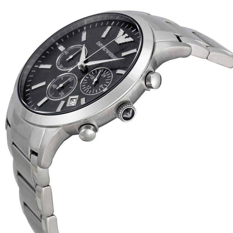 9e96f2f43dc Relógio Emporio Armani Ar2434 Prata Caixa Original Garantia - R  489 ...