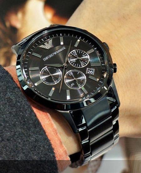 69d8345486b empório armani relógio · relógio empório armani ar2453 original eua black  cronógrafo · relógio empório armani. Carregando zoom.