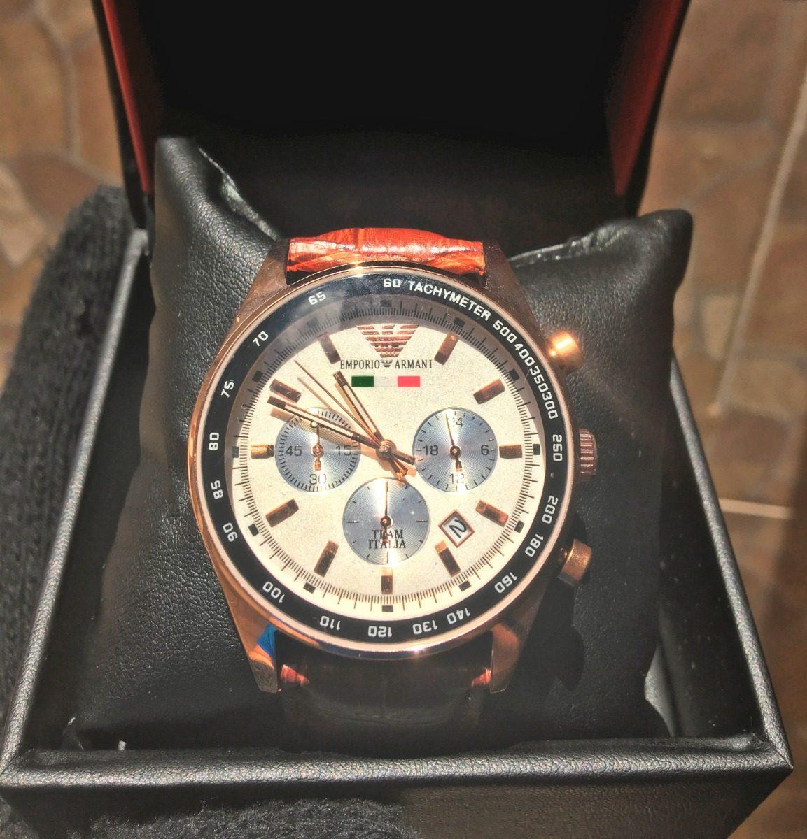 51d8ab931f Relógio Emporio Armani - Hae2413 z - Pulseira Em Couro - R  319