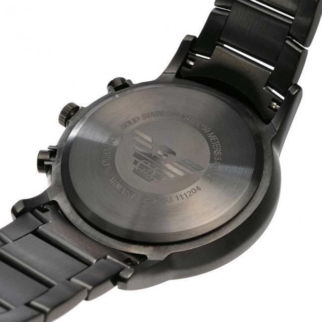 312f0eef33b Relógio Empório Armani Ar2453 Original Eua Black Cronógrafo - R  969 ...