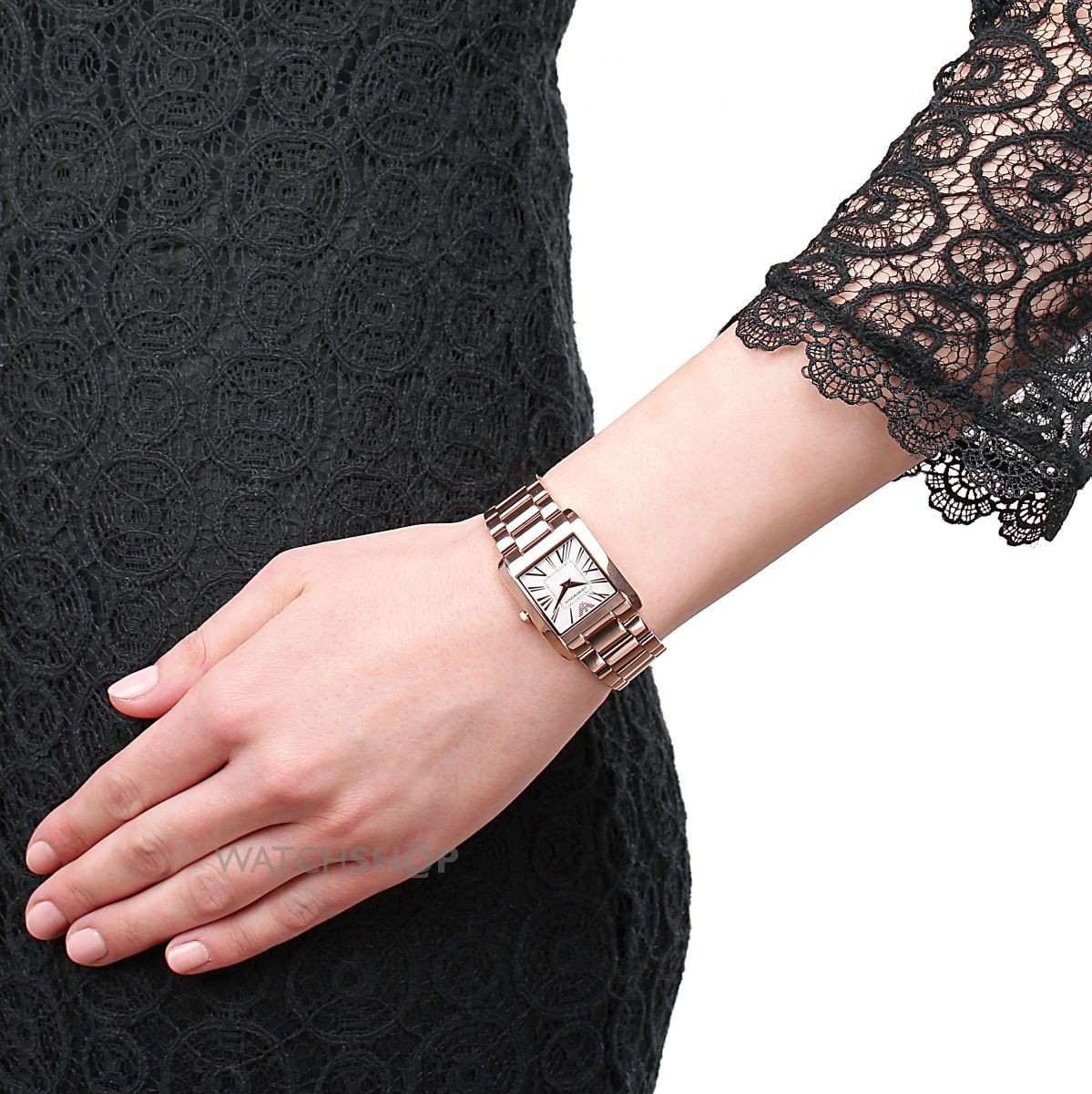 e235cda7d52 Relógio Emporio Armani Ladies Super Slim Ar2051 - R  1.699
