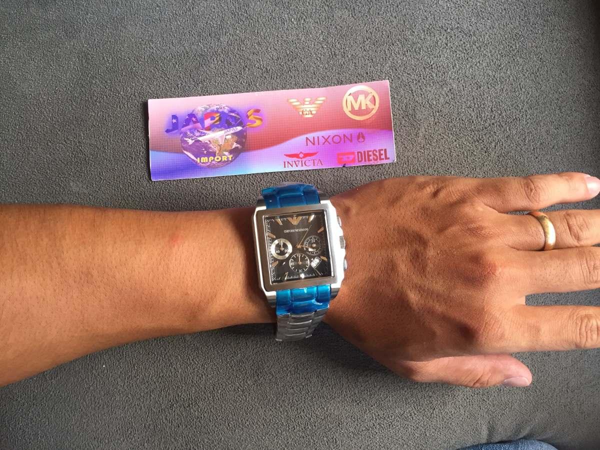 b991180408e Relógio Emporio Armani Ar0659 Kaká Original Completo C caixa - R ...