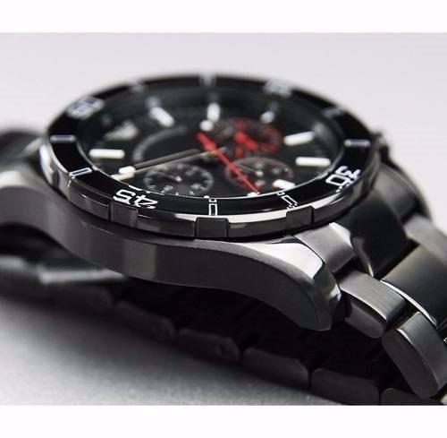 873a9a38fc6 Relógio Emporio Armani Ar5931 Preto Lançamento Caixa Ar4958 - R  662 ...