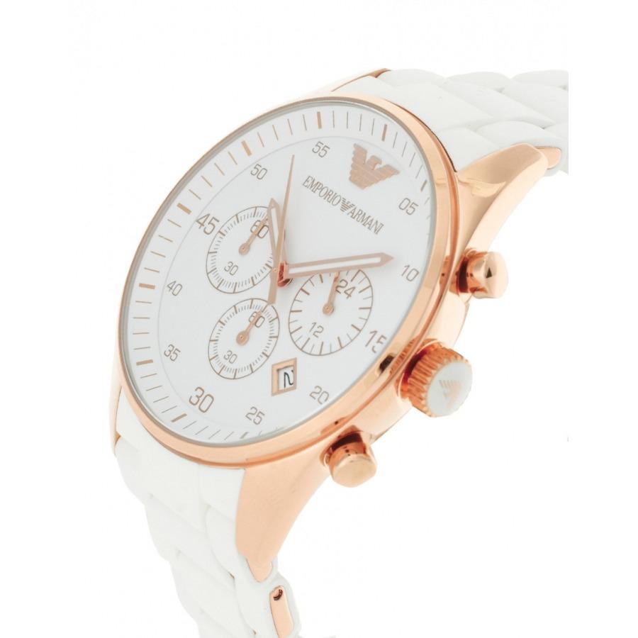 a381de3f9ad Relógio Feminino Empório Armani Ar5919 Dourado Rosé Original - R ...