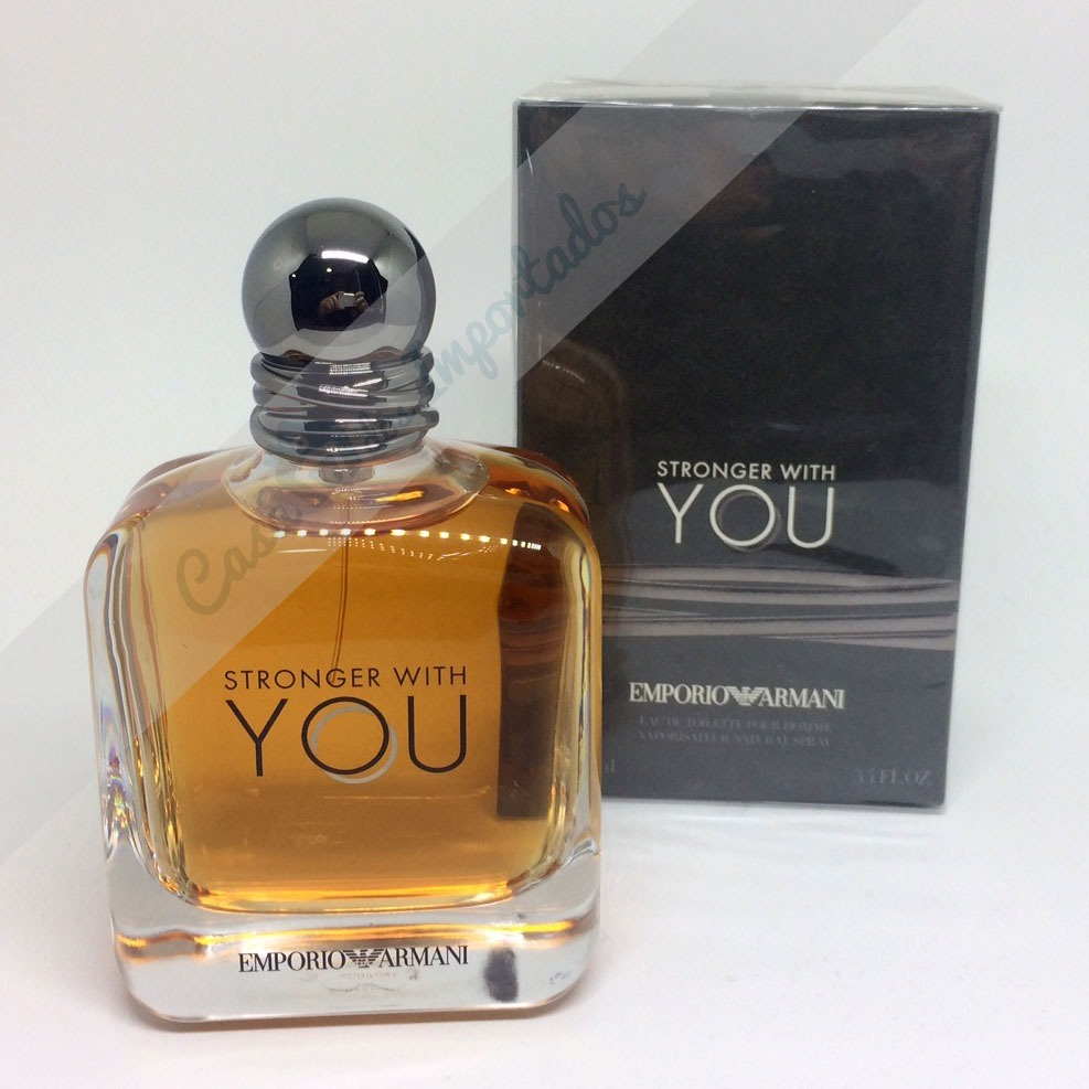 c5ccac9c5fa Emporio Armani Stronger With You 100ml Masculino