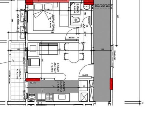empreendimento em jardim américa com 1 dormitório - vr23932
