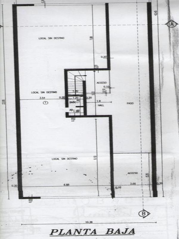 emprendimiento a terminar - 1 local y 4 duplex con cochera.
