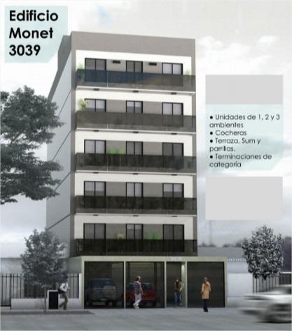 emprendimiento edificio monet 3039 el palomar