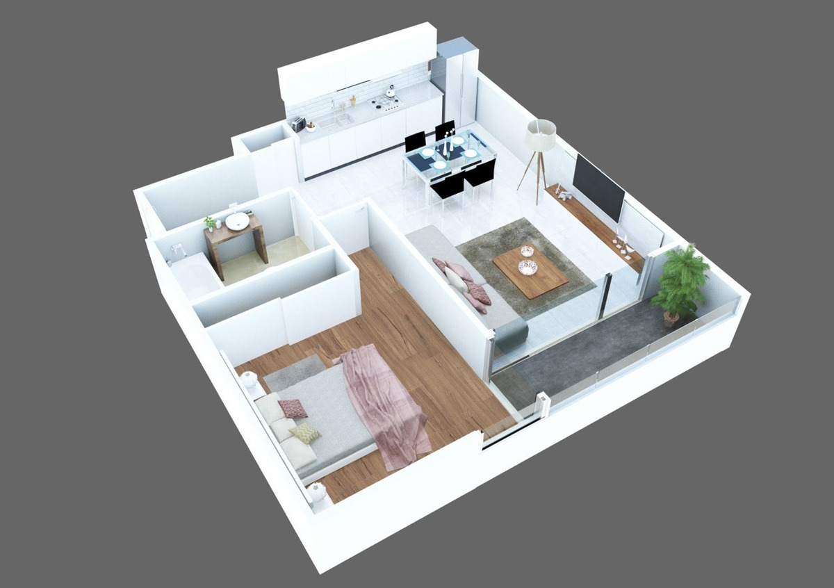 emprendimiento edifico de 1,2,3, 4 amb y oficinas.