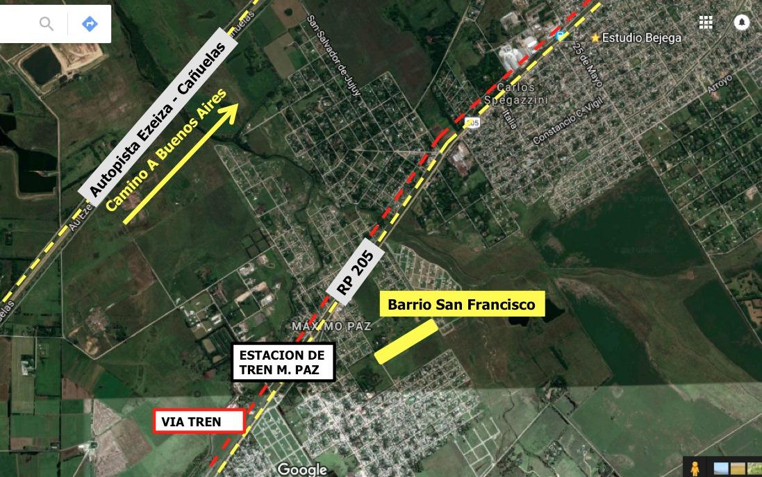 emprendimiento emprendimiento loteo barrio san francisco - lotes sin expensas - terrenos cañuelas y ezeiza terreno lote zona sur