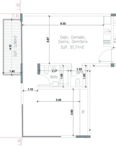 emprendimiento en venta - arce 305 - las cañitas - 2 ambientes