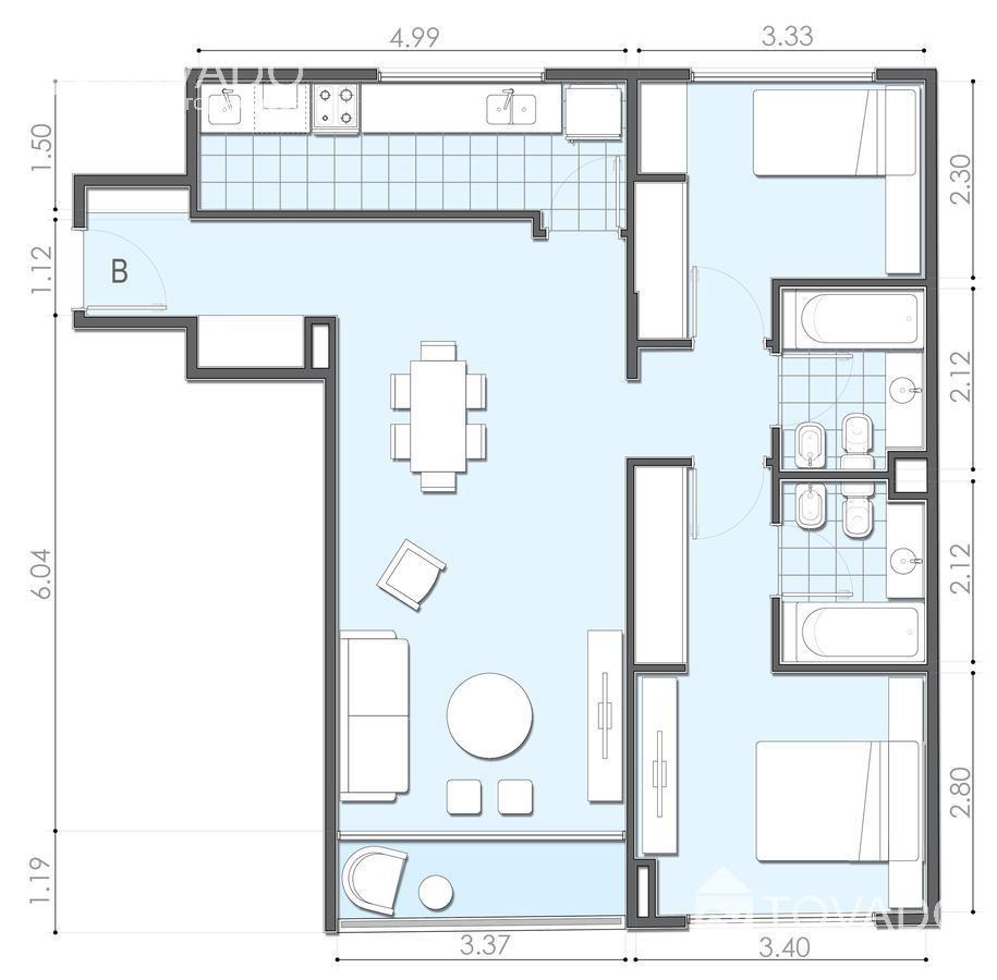 emprendimiento en venta - cramer 3065 - nuñez - 3 ambientes