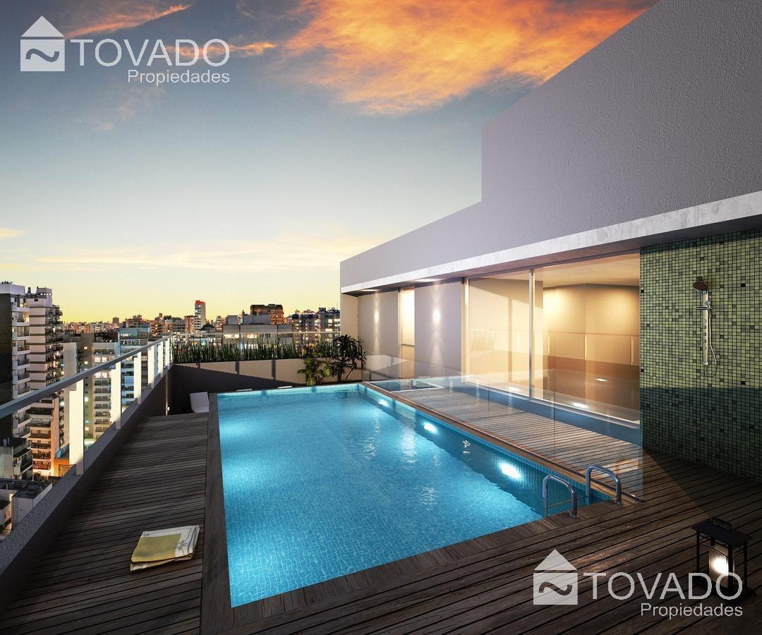 emprendimiento en venta en palermo hollywood! monoambiente con hermoso balcon terraza!