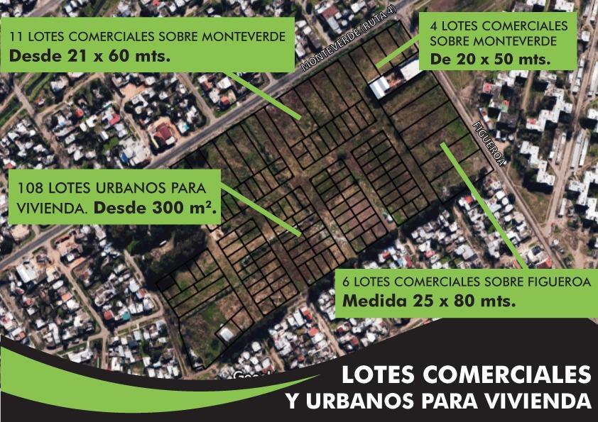emprendimiento lotes terrenos  para vivienda y comercio