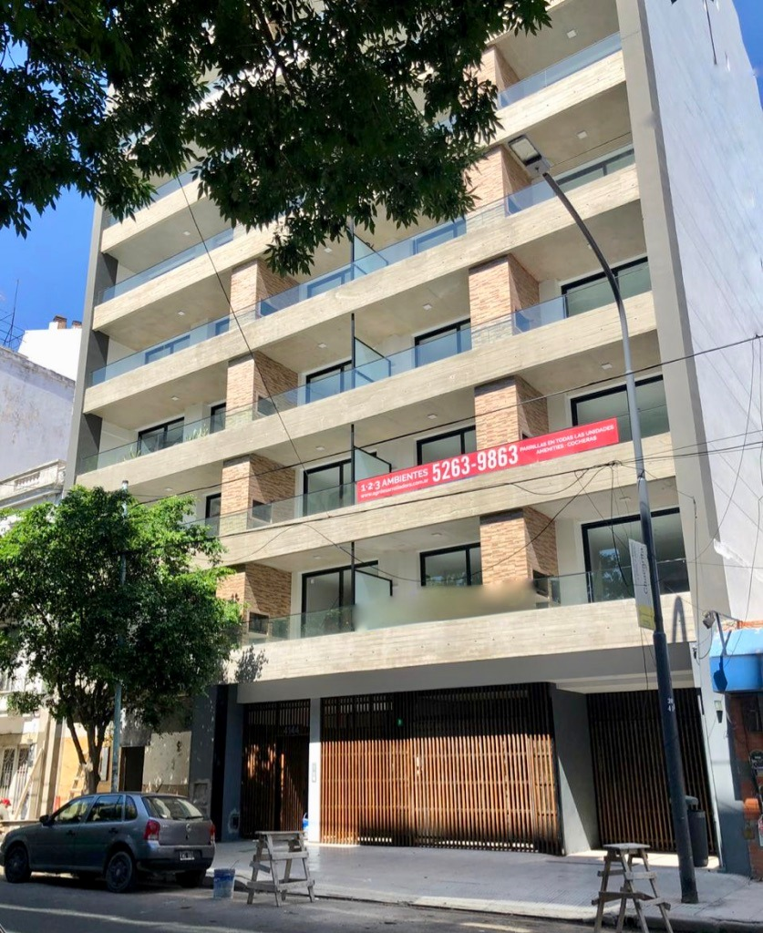 emprendimiento olleros 4144 - 1, 2 y 3 amb con parrilla - distrito audiovisual / chacarita