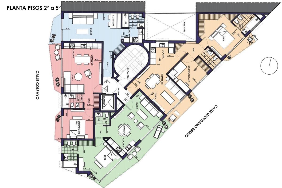 emprendimiento plaza residences - colpayo 303