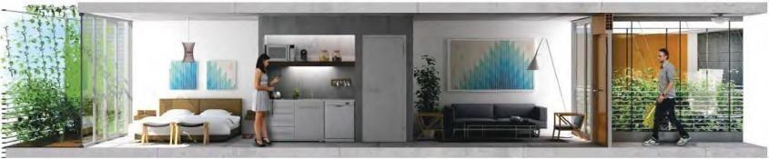 emprendimiento tempora belgrano - 2 amb balcón, full amenities