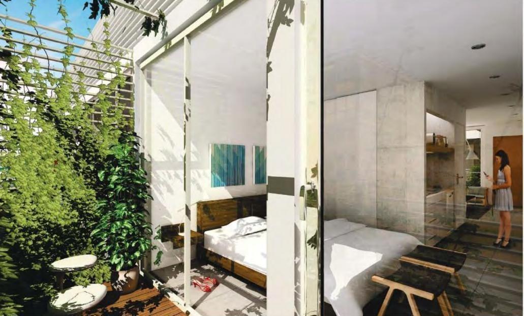 emprendimiento tempora belgrano - dos amb balcón terraza amenities